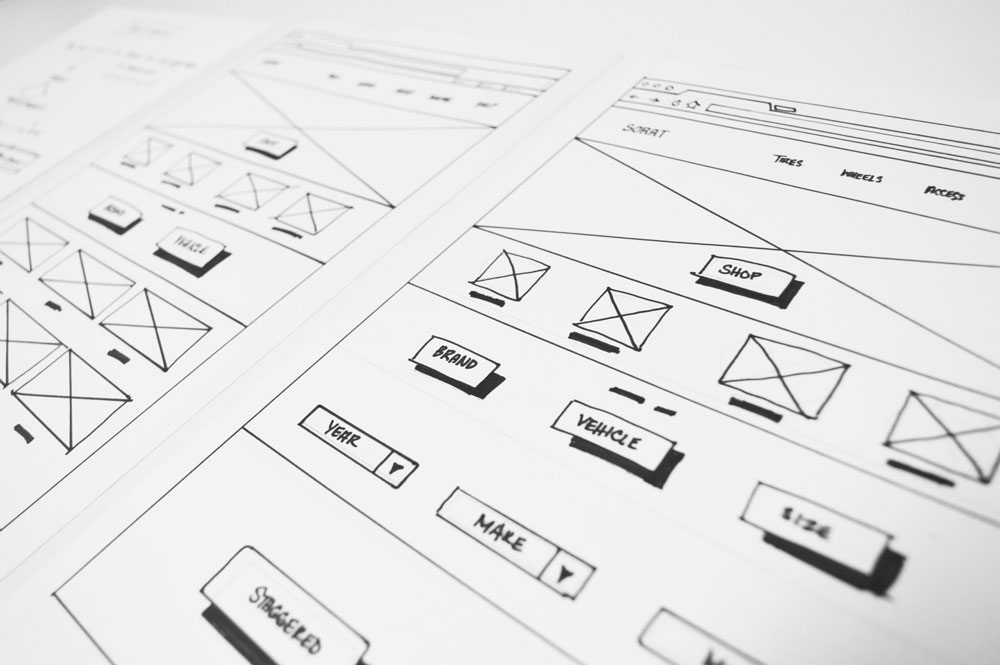 Low Fidelity Sketching and Prototyping
