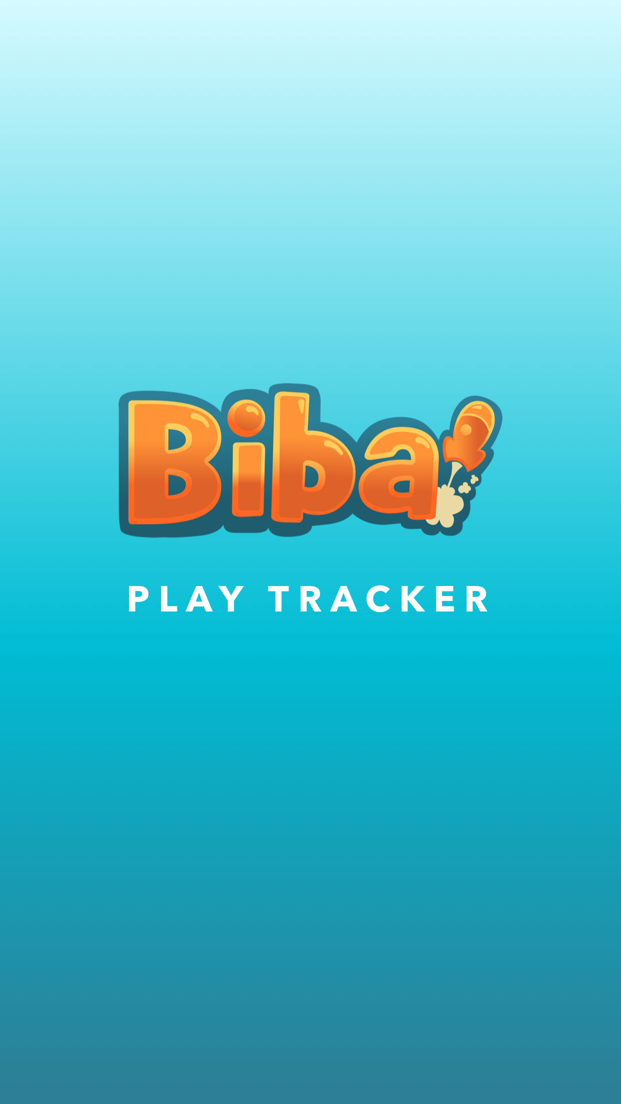 Biba Play Tracker Loading Screen